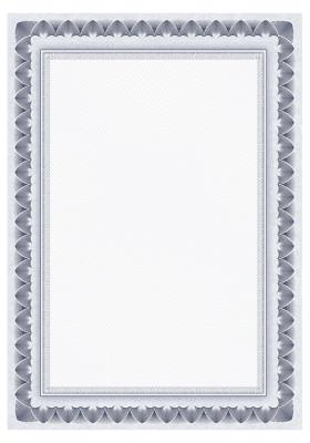 "Картон для дипломов Galeria Papieru A4 ""Dyplom Arcady niebieskie"", 170 г/м2, 25 шт"