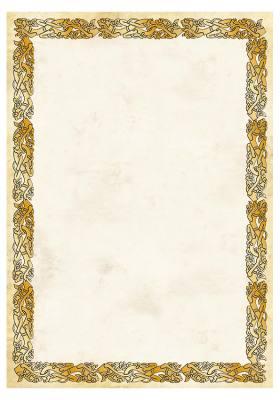 """Картон для дипломов Galeria Papieru A4 """"Dyplom Celtic"""", 250 г/м2, 20 шт"""