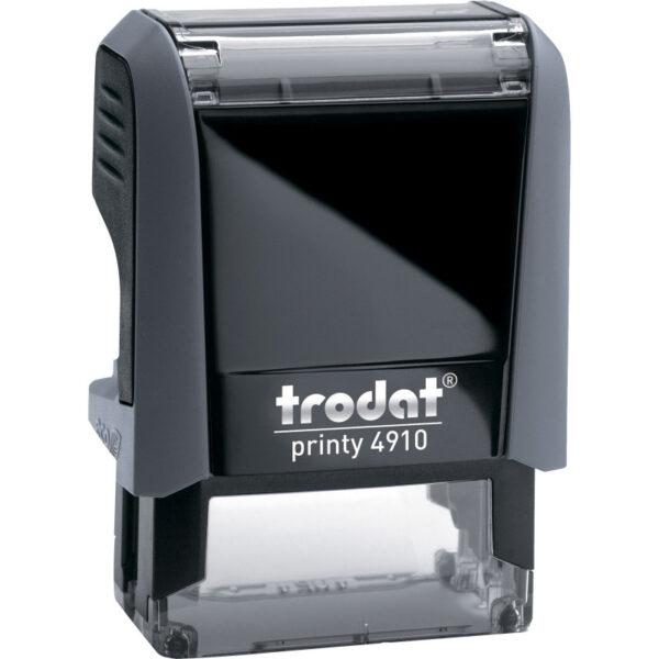 Оснастка для штампа 26х9мм TRODAT, серый корпус