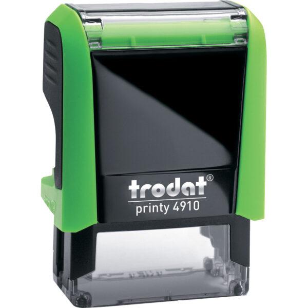 Оснастка для штампа 26х9мм TRODAT, зеленый корпус