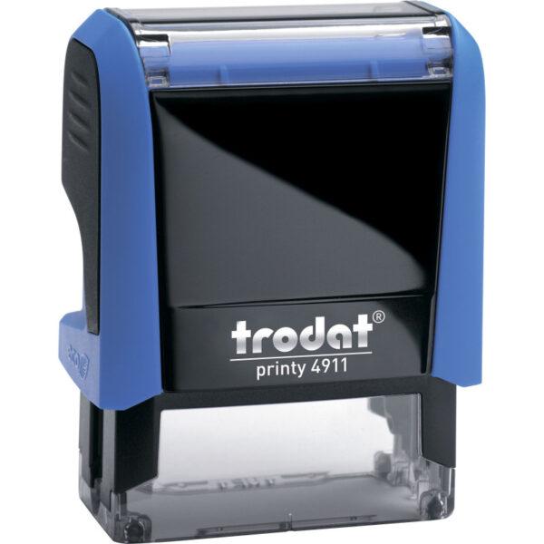 Оснастка для штампа 38х14мм TRODAT, синий корпус
