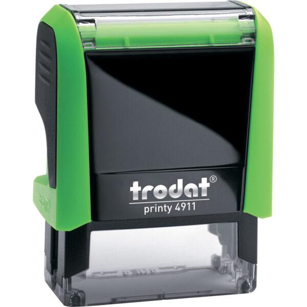Оснастка для штампа 38х14мм TRODAT, зеленый корпус