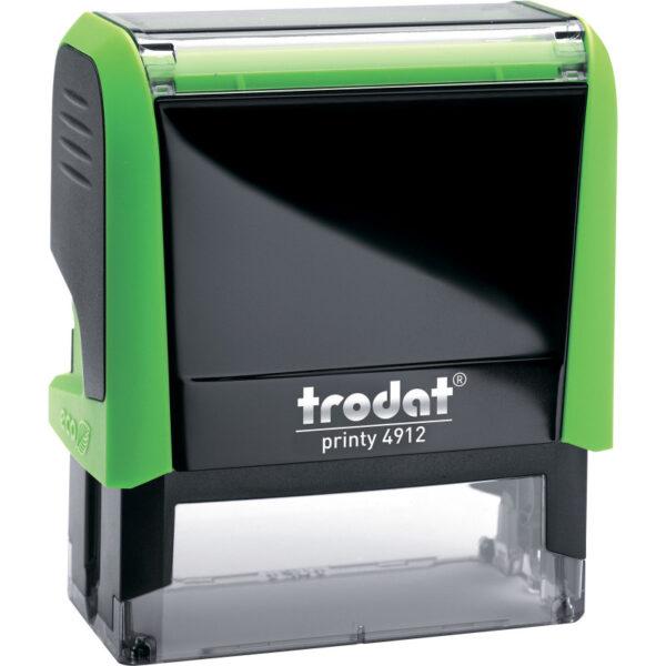 Оснастка для штампа 47х18мм TRODAT, зеленый корпус
