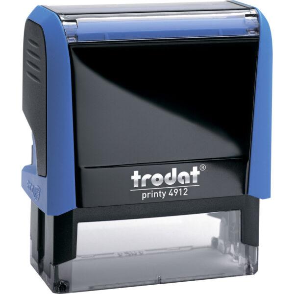 Оснастка для штампа 47х18мм TRODAT, cиний корпус