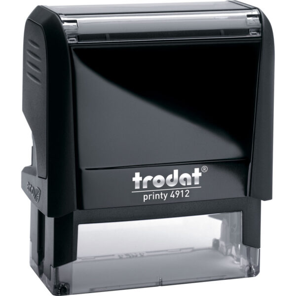 Оснастка для штампа 47х18мм TRODAT, черный корпус