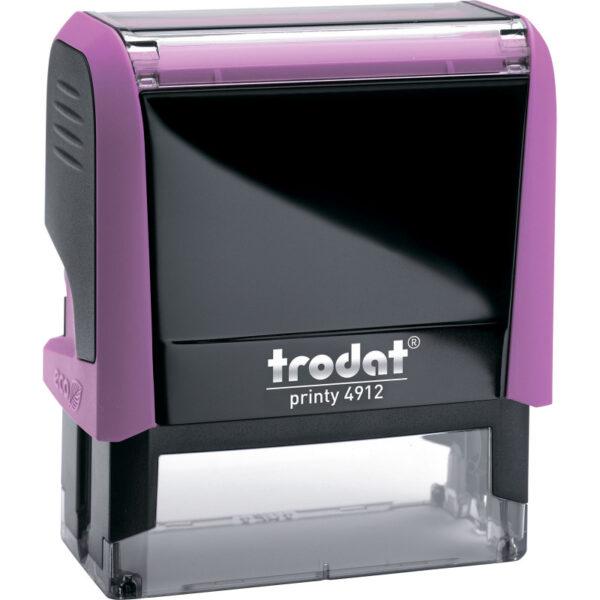 Оснастка для штампа 47х18мм TRODAT, розовый корпус