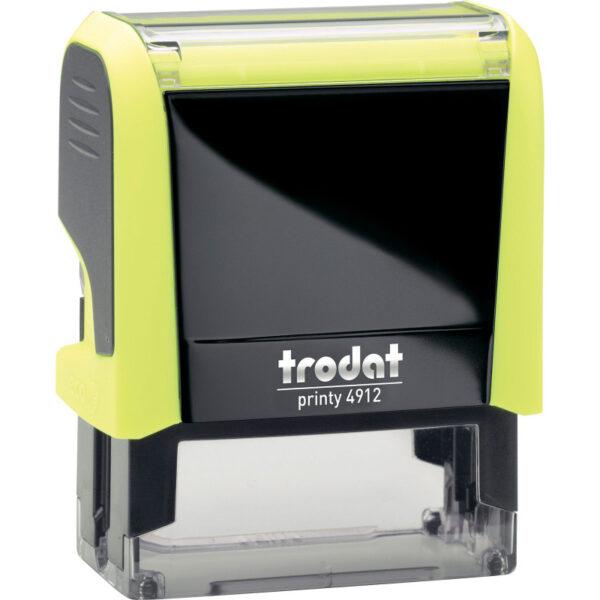 Оснастка для штампа 47х18мм TRODAT, желтый корпус неон