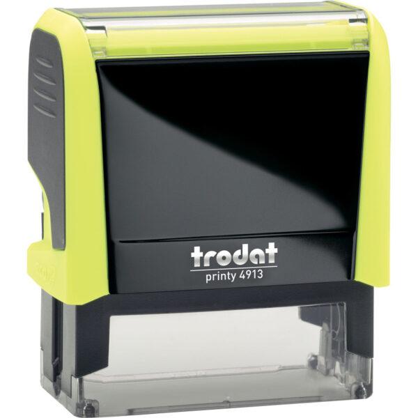 Оснастка для штампа 58х22мм TRODAT, желтый корпус неон