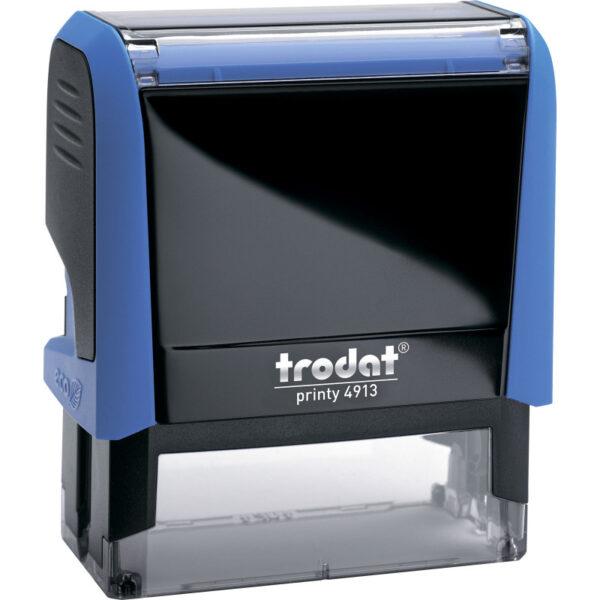 Оснастка для штампа 58х22мм TRODAT, синий корпус