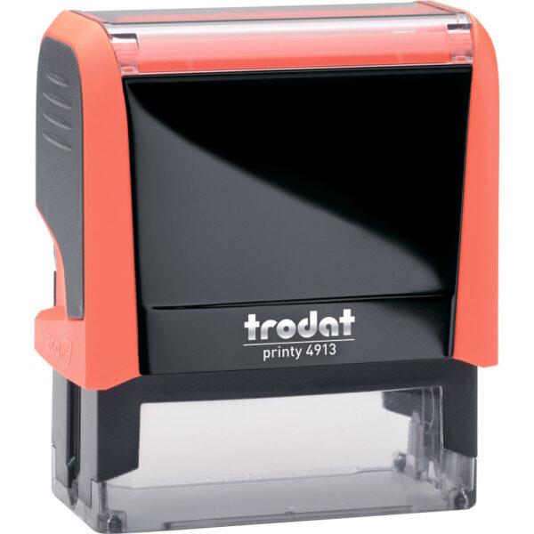 Оснастка для штампа 58х22мм TRODAT, оранжевый корпус неон