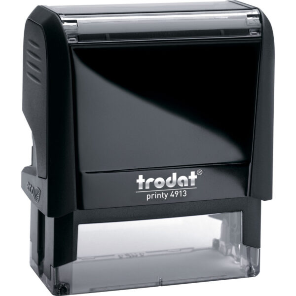 Оснастка для штампа 58х22мм TRODAT, черный корпус