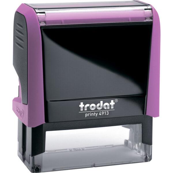 Оснастка для штампа 58х22мм TRODAT, розовый корпус