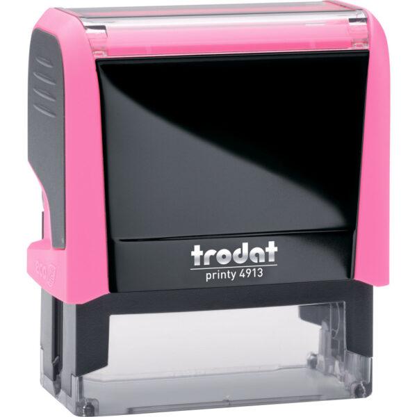 Оснастка для штампа 58х22мм TRODAT, розовый корпус неон