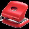 Дырокол пластиковый RAPID Fashion FC30, пробивает до 30 листов, красный