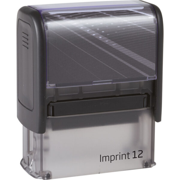 Оснастка для штампа 47х18мм IMPRINT-12, черный корпус