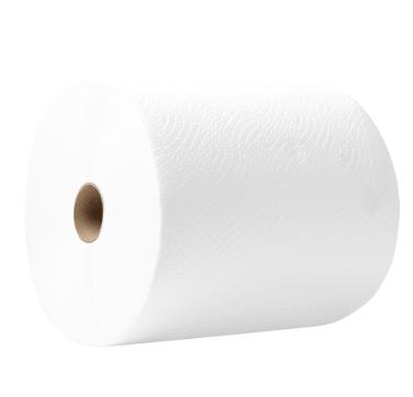 Полотенце целлюлозное Новинка 190х190мм, 1 рулон, 2 слоя, 100м, белое, внутренняя размотка