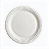 Тарелка бумажная 17х17см, 100шт, белая