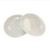 Тарелка стекловидная, d-20,5см, 10шт, белая