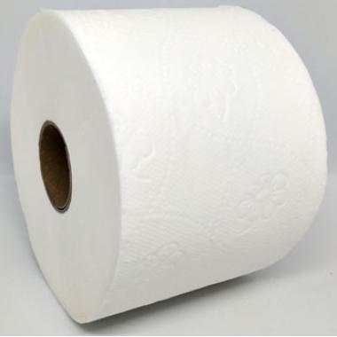 Туалетная бумага Z-BEST, d=12,5cм, 2 слоя, 6 рулонов, 50 м, белая