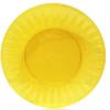 Тарелка стекловидная, d-20,5см, 10шт, желтая