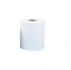 Полотенце целлюлозное Тіша Mini Basic без тиснення 130х190мм, 1 рулон, 2 слоя, 68м, белое, внутренняя размотка