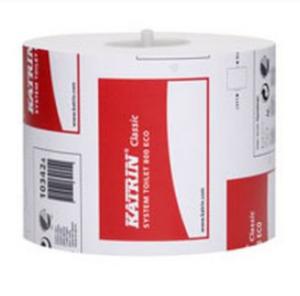 Туалетная бумага Katrin Classic SystemTowel, Эко, 800 листов, 2 слоя, 1 рулон, белая