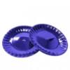 Тарелка стекловидная, d-20,5см, 10шт, синяя