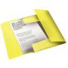 Папка на резинке А4, Esselte Colour'ice, PP на 150 листов, желтая 56379
