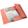Папка на резинке А4, Esselte Colour'ice, PP на 150 листов, абрикосовая 56360