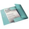 Папка на резинке А4, Esselte Colour'ice, PP на 150 листов, голубая 56376