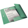 Папка на резинке А4, Esselte Colour'ice, PP на 150 листов, зеленая 56382