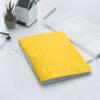 Папка пластиковая А4, Leitz WOW с 20 файлами, желтая 56339