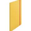 Папка пластиковая А4, Leitz Cosy РР с 20 файлами, на резинке, желтая
