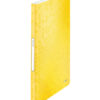 Папка пластиковая А4, Leitz WOW с 20 файлами, желтая