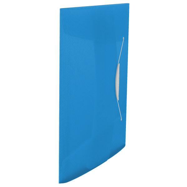 Папка на резинке А4, Esselte Vivida PP на 150 листов, синяя