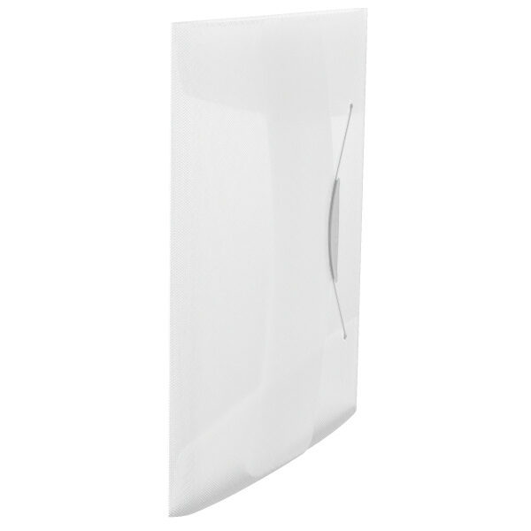 Папка на резинке А4, Esselte Vivida PP на 150 листов, белая