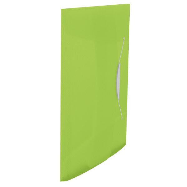 Папка на резинке А4, Esselte Vivida PP на 150 листов, зеленая