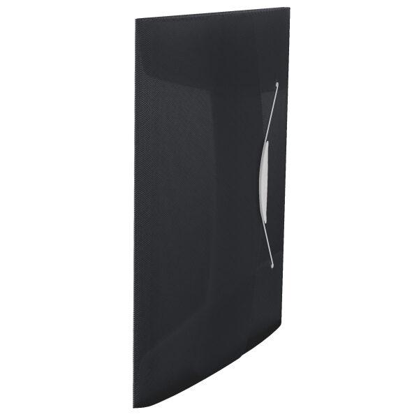 Папка на резинке А4, Esselte Vivida PP на 150 листов, черная