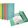 Папка на резинке А4, Esselte Colour'ice, PP на 150 листов, голубая 56361