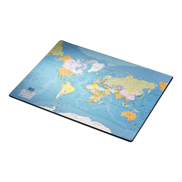Настольная подложка на стол Esselte Карти Мира 40х53см