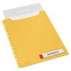Файл для документов Leitz Cosy РР А4 на 150 листов, 3шт, желтый, с расширением