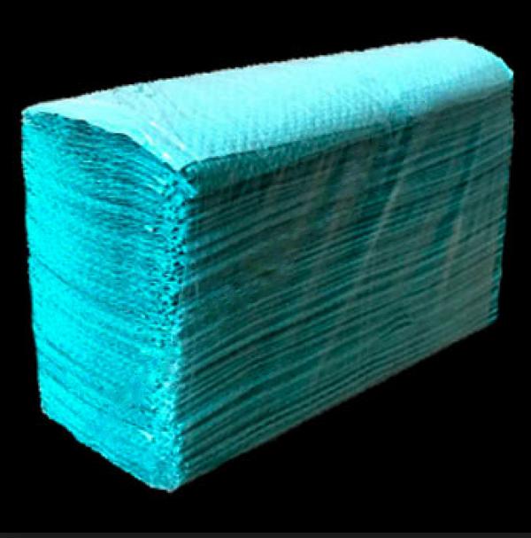 Полотенца-вкладыши Тіша Р-402, Z-сложение, 210х227мм, 150шт, зеленые