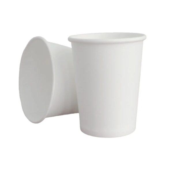 Стакан бумажный, 180(200)мл, 50 шт., белый