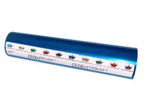 Фольга для ламинатора Crown Roll Leaf, 30,5м, голубая