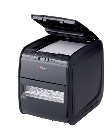 Уничтожитель документов с автоподачей REXEL AUTO+ 90X до 90 листов, черный