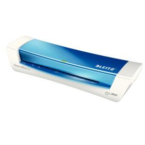 Ламинатор Leitz iLAM Home Office A4, 125мкм, 310мм/мин, синий металлик