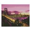 Алмазная мозаика Strateg «Манхеттенский мост», 40х50 см