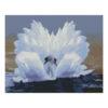 Алмазная мозаика Strateg «Лебединая любовь», 40х50 см