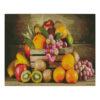 Алмазная мозаика Strateg «Ящик с фруктами», 40х50 см
