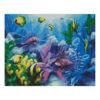 Алмазная мозаика Strateg «Подводный мир», 40х50 см